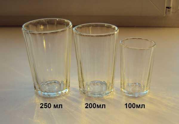 250-300 мл питьевой воды