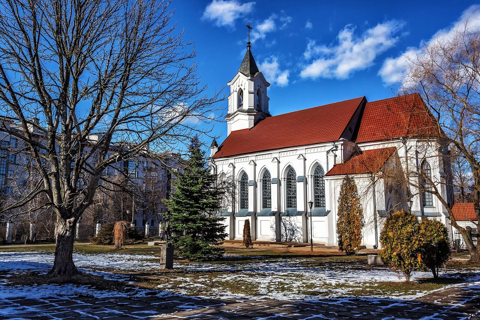 Костел Святого Роха - История костела святого Роха в Минске на проспекте Независимости