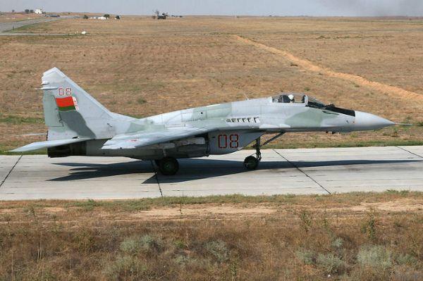 Самолет Миг-29 Республики Беларусь