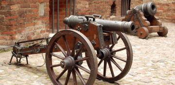 Первые пушки России