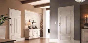 Где используются белые межкомнатные двери?