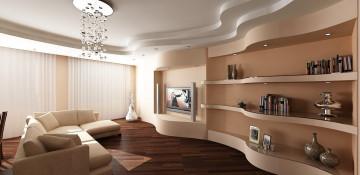 Особенности применения гипсокартона для отделки потолка